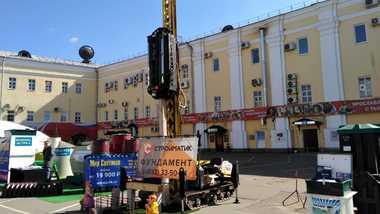 В Ярославле на выставке «Загородный дом» приходите узнать преимущества технологии сваезабивных фундаментов СТРОЙМАТИК