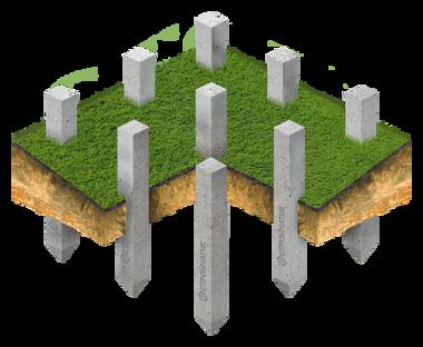 Фундамент на склоне