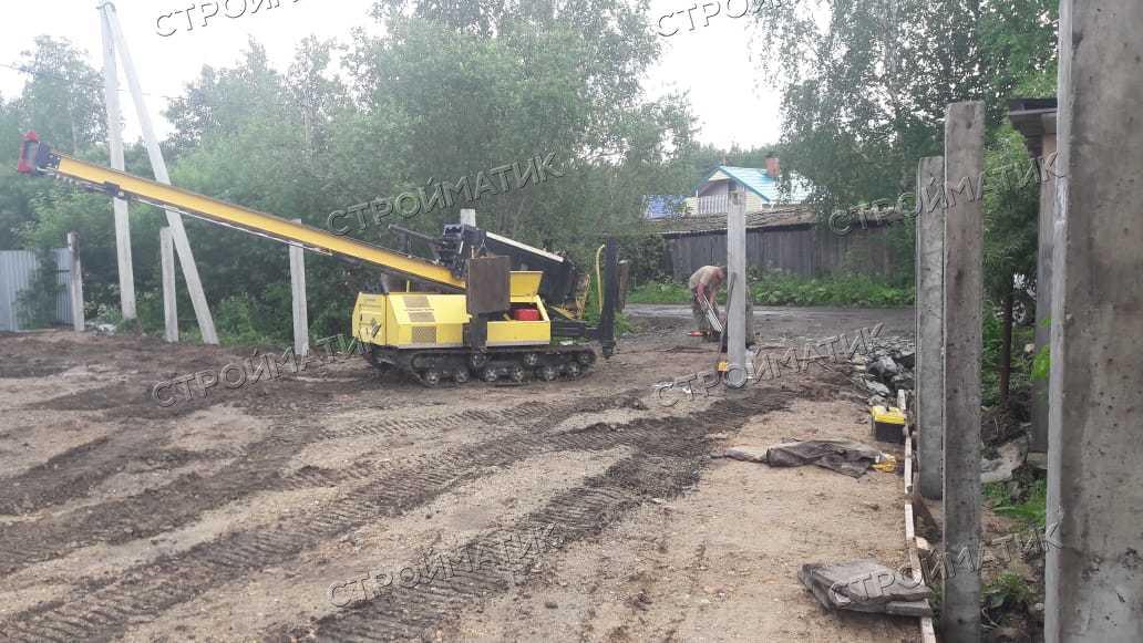 Фундамент для террасы дома в Ярославле от компании Стройматик