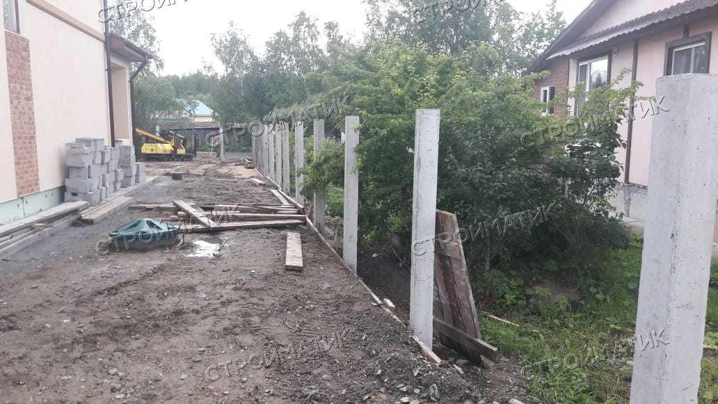 Фундамент для дома на ж/б сваях в поселке Нерощино от компании Стройматик