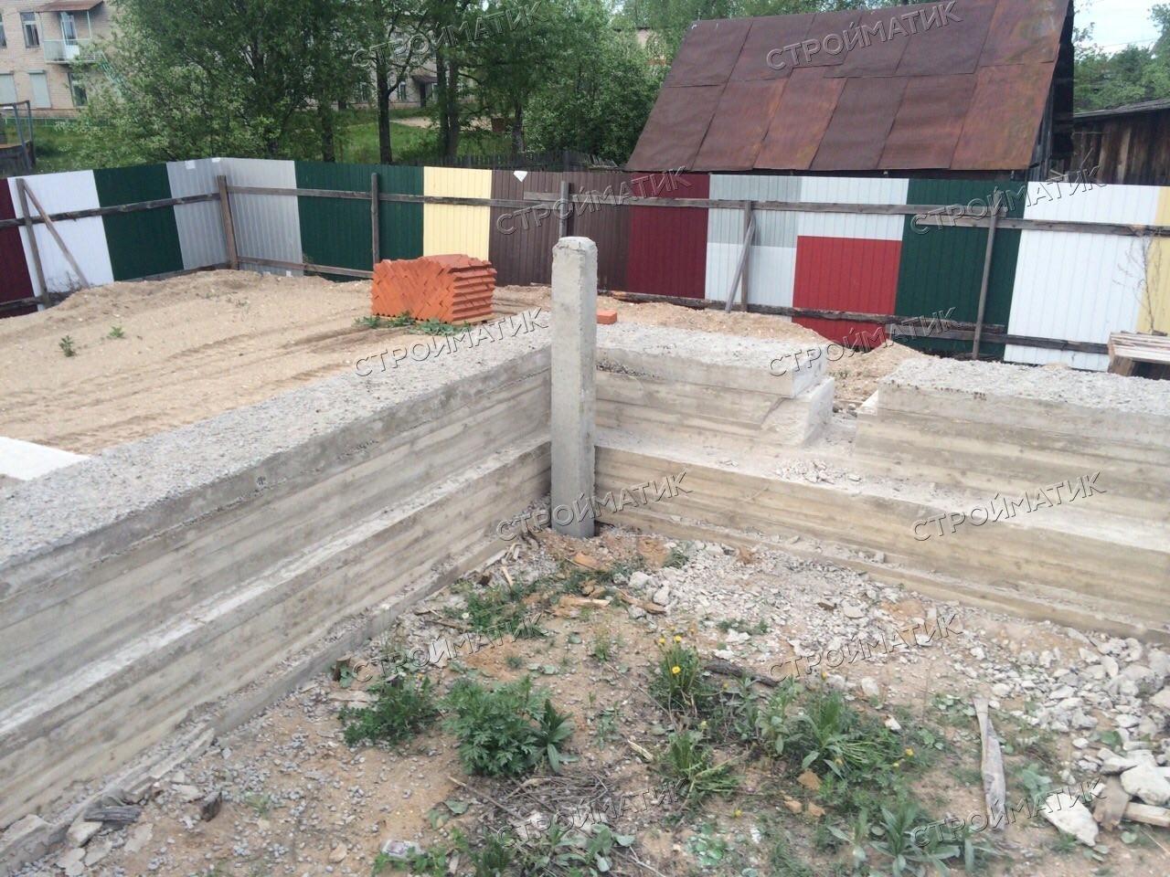 Усиление фундамента ж/б сваями в Череповецком районе от компании Стройматик