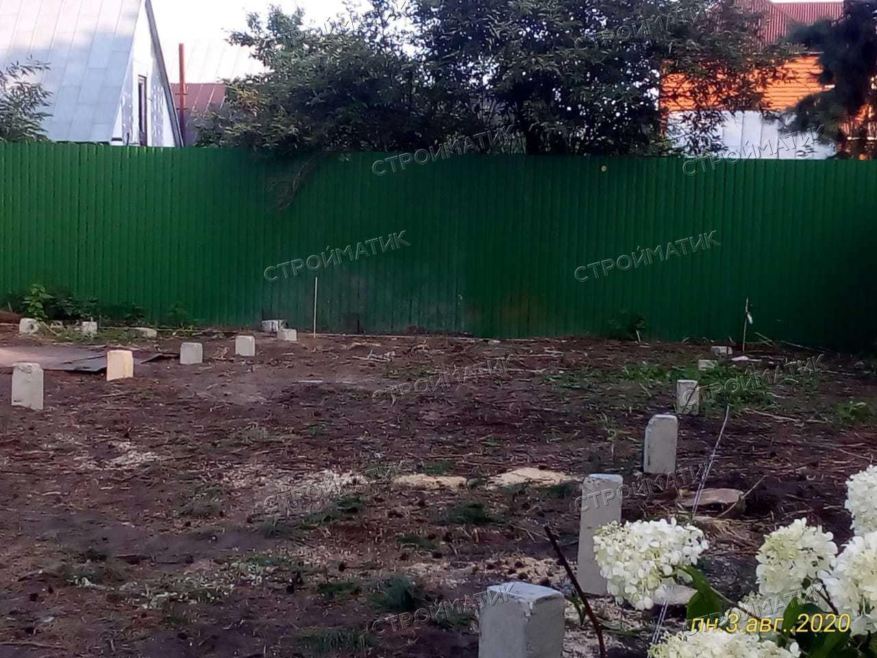 """Фундамент под дом из газобетона в стиле """"ШАЛЕ"""""""
