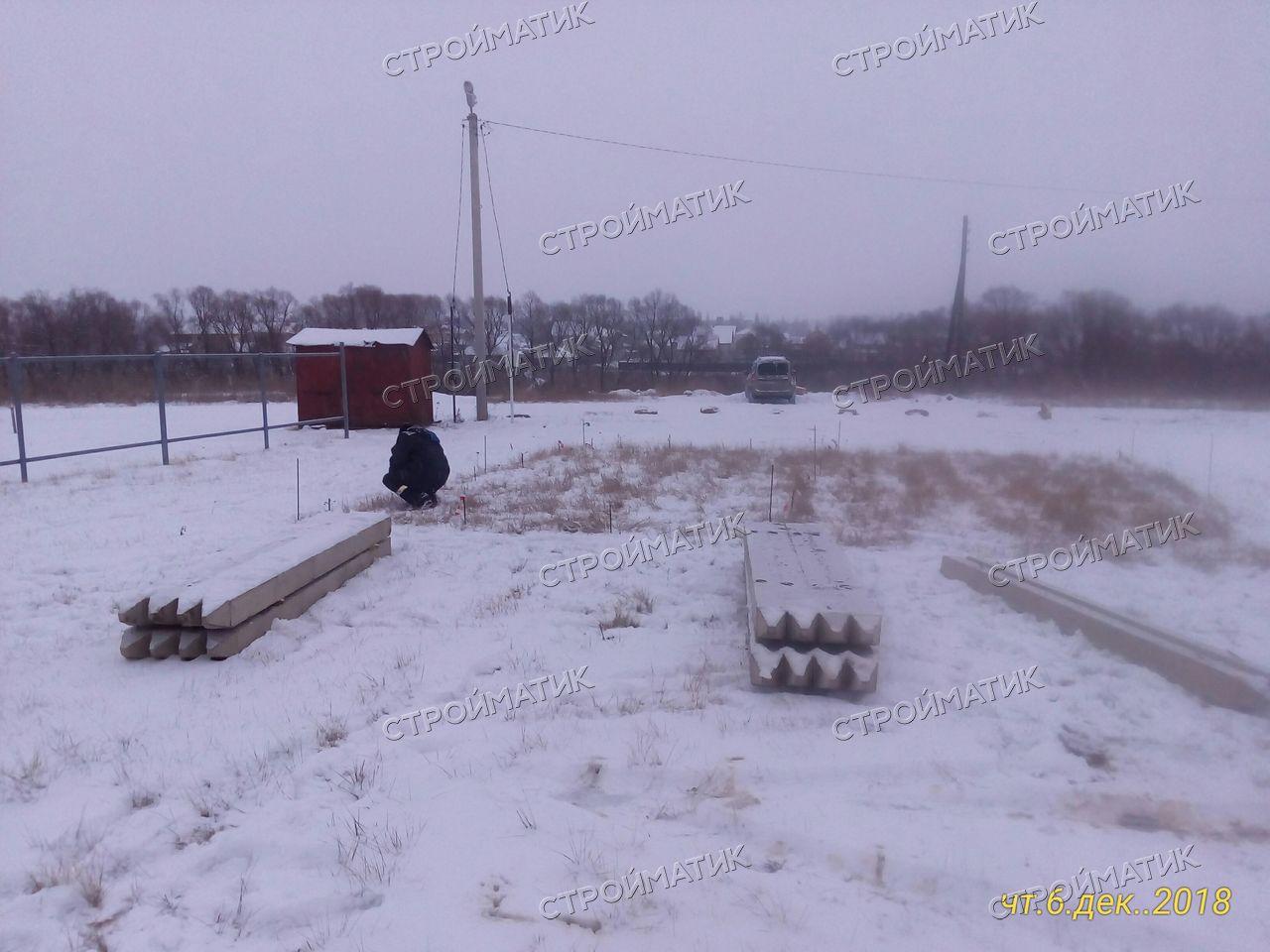 Стройматик забивка свай в г. Лебедянь, Липецкая область