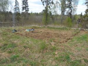 Фундамент для частного дома из бруса в посёлке Торфяное, СНТ Тюльпан