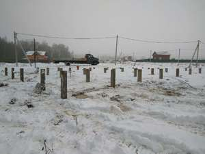 Фундамент для каркасного дома и бани в Клинском районе