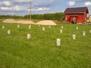 Фундамент для каркасного дома в Ярославской области
