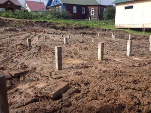 Фундамент для дома из SIP-панелей в селе Выльгорт