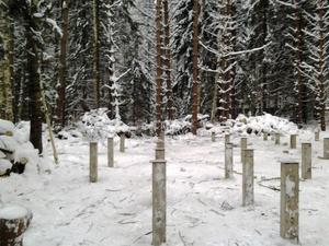 Фундамент для каркасного дома в деревне Криушкино Переславского района