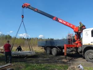 Фундамент для дома из газобетона в посёлке Некрасовское