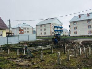 Фундамент для дома из сибита в городе Бердск