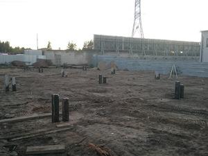 Фундамент для ангара в Петрозаводске