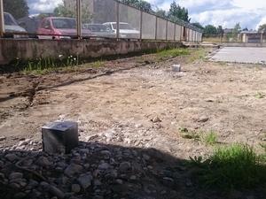 Фундамент для подпорной стенки в Петрозаводске