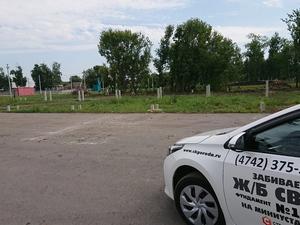 Фундамент для ангара сельскохозяйственной техники в селе Митягино