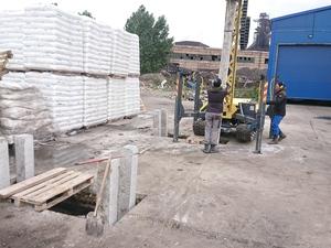 Фундамент под производственно-складское помещение