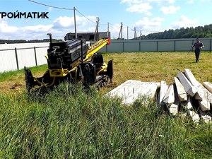 Фундамент для двух домов в Тверской области