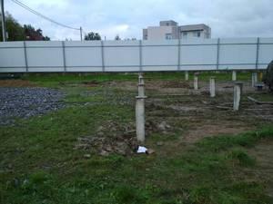 Фундамент для дома в Колпинском районе
