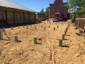 Фундамент для дома из бруса в Череповце