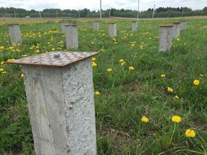 Фундамент для каркасного дома в поселке Первомайское под Вологдой