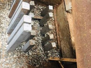 Реконструкция въезда в элеватор и опорная стенка