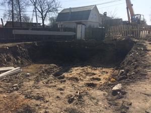 Фундамент для дома из кирпича в Костромской области