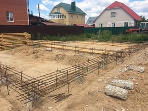 Фундамент с висящим ростверком для кирпичного дома в Костроме