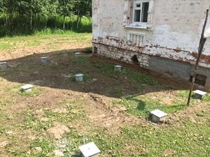 Фундамент для каркасного дома в Костроме