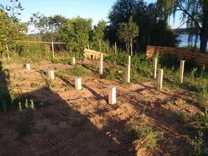 Фундамент для дома из бруса в поселке Сунгурово