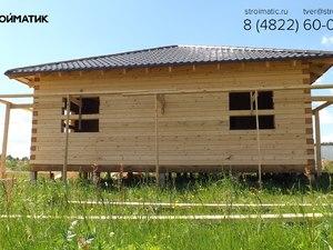 Фундамент для дома из бруса в коттеджном поселке Тверской области