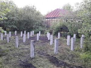 Фундамент для дома из бруса в селье Щучье