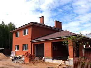 Фундамент с ростверком для кирпичного дома в Твери