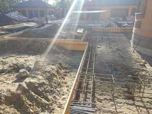 Фундамент для комплекса блочных строений в селе Тимирязево
