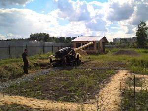 Фундамент для дома из бревна в Челябинске