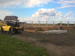 Фундамент под ростверк веранды в Челябинске