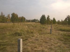 Фундамент для кирпичного забора в поселке Лазурный, Челябинск