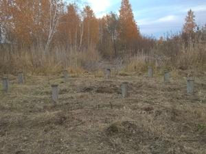 Фундамент для бани из бруса в СНТ Луч, Челябинск
