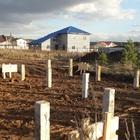 Фундамент на забивных ж/б сваях с бетонным ростверком для каркасного дома в поселке Рассоха, Екатеринбург от компании Стройматик