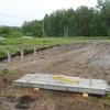 Фундамент на забивных ж/б сваях для дома из бревна поселок Мичуринский, Новосибирский район, СНТ Медик 1 от компании Стройматик