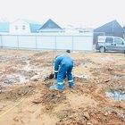 Фундамент на забивных ж/б сваях с бетонным ростверком для одноэтажного дома из пеноблока с облицовкой кирпичом в городе Ижевске от компании Стройматик