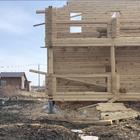 Фундамент двухэтажного дома в Томске