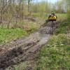 Фундамент на забивных ж/б сваях для каркасного дома в деревне Каменная, Удмуртия от компании Стройматик