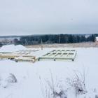Фундамент на забивных ж/б сваях для каркасного дома в деревне Каменное, Удмуртия от компании Стройматик