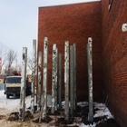 Фундамент на забивных ж/б сваях для вышки сотовой связи в городе Воткинск, Удмуртия от компании Стройматик