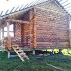 Фундамент на забивных ж/б сваях для дома из бревна в деревне Березина Тверской области от компании Стройматик