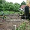 Фундамент на забивных ж/б сваях для каркасного дачного домика в городе Мичуринске, Тамбовская область от компании Стройматик