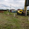 Фундамент на забивных ж/б сваях для бани из бруса в поселке Первое мая Липецкой области от компании Стройматик