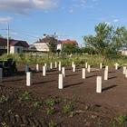 Фундамент на забивных ж/б сваях для быстровозводимых сооружений в поселке Аэропорт-2 Липецкой области от компании Стройматик