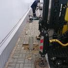 Фундамент на забивных ж/б сваях для пристройки к зданию в селе Боринское Липецкой области от компании Стройматик