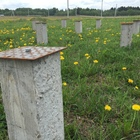 Фундамент на забивных ж/б сваях для каркасного дома в поселке Первомайское Вологодской области от компании Стройматик