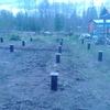 Фундамент на забивных ж/б сваях для дома с верандой в деревне Педасельга Прионежского района республики Карелия от компании Стройматик