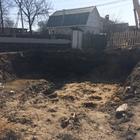 Фундамент на забивных ж/б сваях под ростверк для дома из кирпича в Костромской области от компании Стройматик